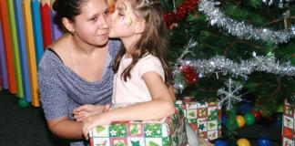 χριστουγεννιάτικη αγκαλιά