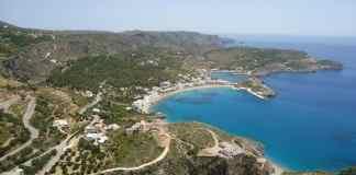 kythira, ocean, coast