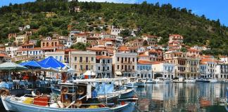 Γύθειο Κύθηρα Κρήτη πλοία