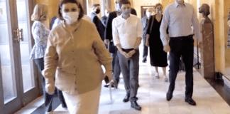 υπουργος πολιτισμου λινα μενδωνη κυβερηση μητσοτακη
