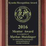 2017 Kyusho Recogntion Awards