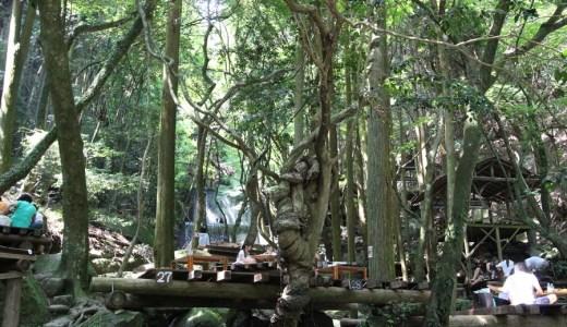享受森林與溪流的空氣 - 秋月潭空庵