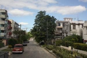 Paikallisten asuinalue Varaderon laitamilla