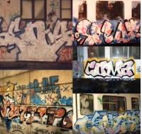 На «стенах Лондона» граффити появилось тоже 80-е, инициаторами были художники-гастролеры из США. И по сей день есть места в Лондоне, где бетонные станы превращаются в холсты для граффити, куда приходят следующие поколения художников.