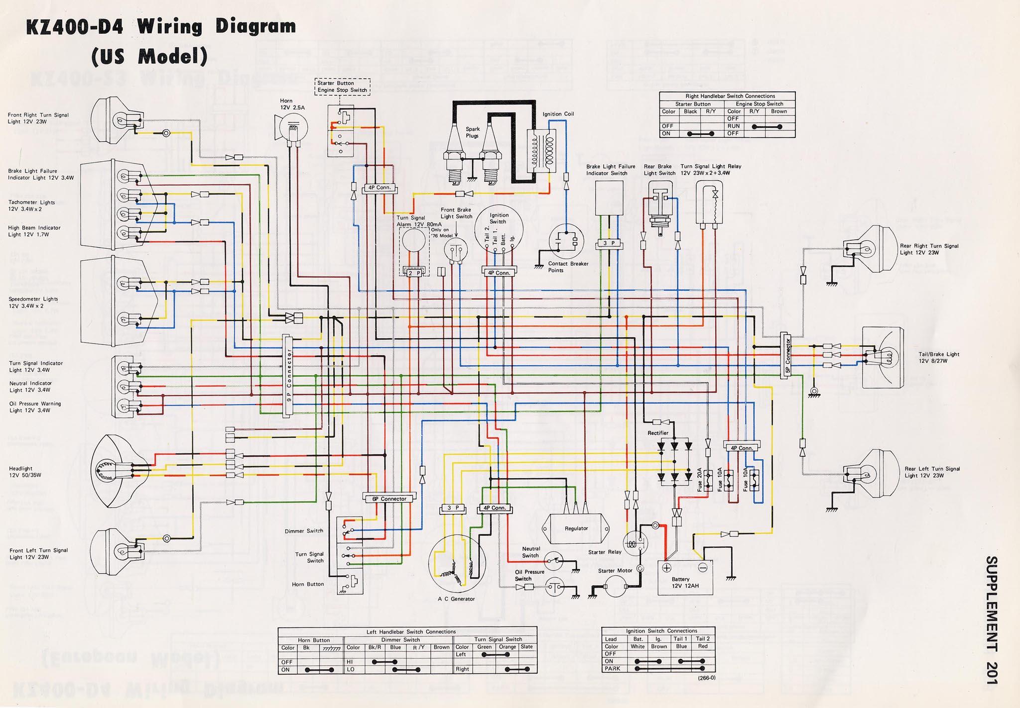 1978 kz400 wiring diagram wiring diagram for light switch u2022 rh lomond tw