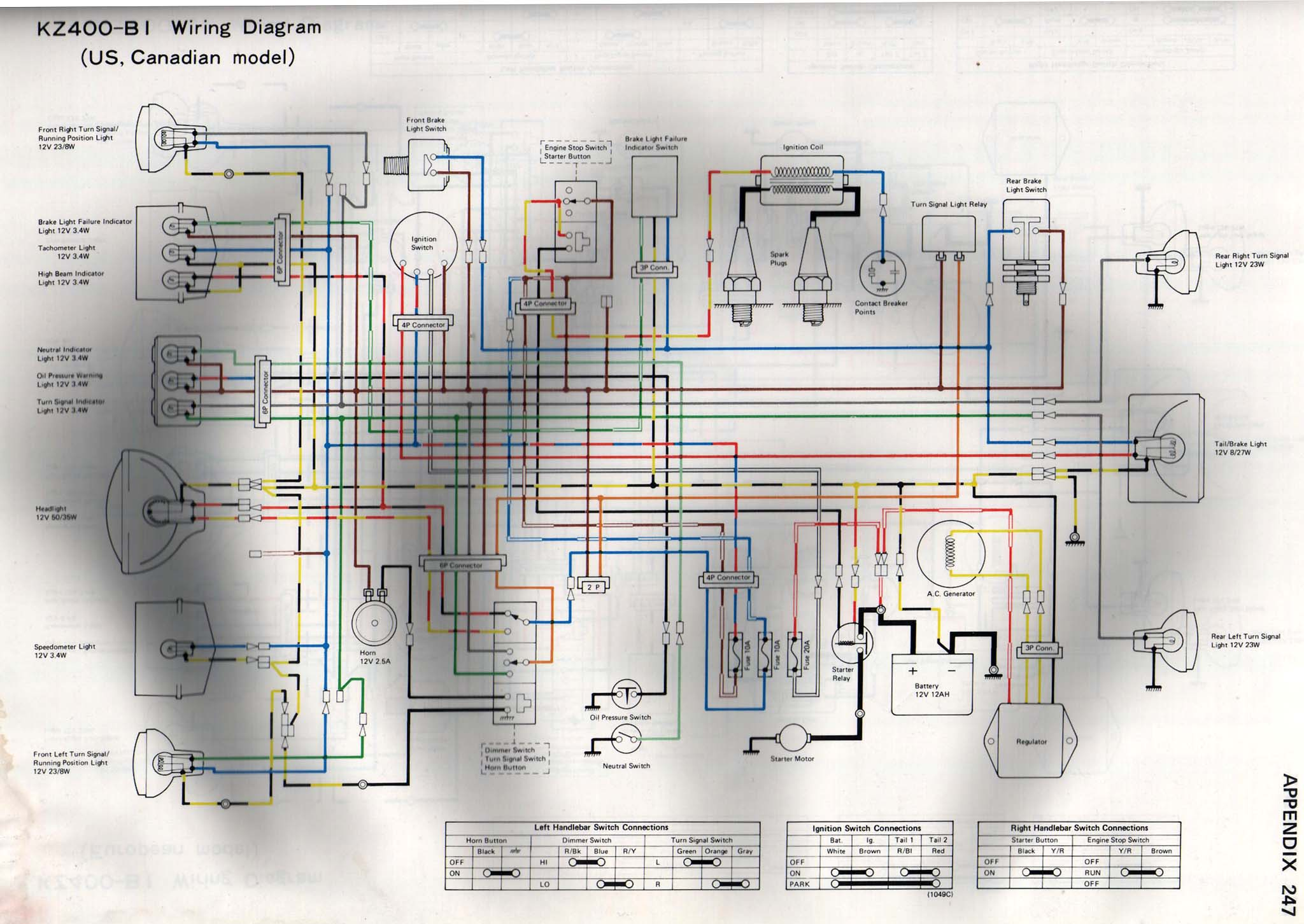 Astounding Kz400 Wiring Diagram Online Wiring Diagram Wiring 101 Ferenstreekradiomeanderfmnl