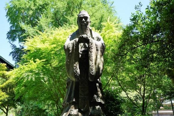 湯島聖堂 孔子像