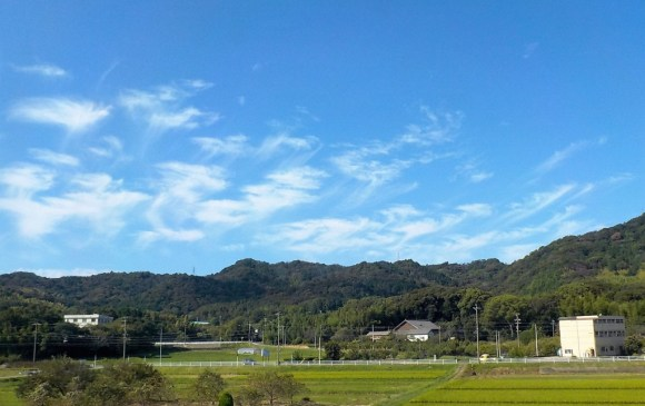 京都旅行 秋の空