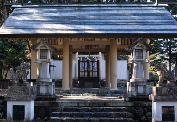 小河内神社 拝殿