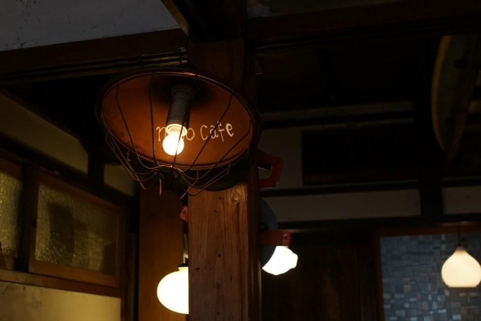 小田原 nico cafe 照明