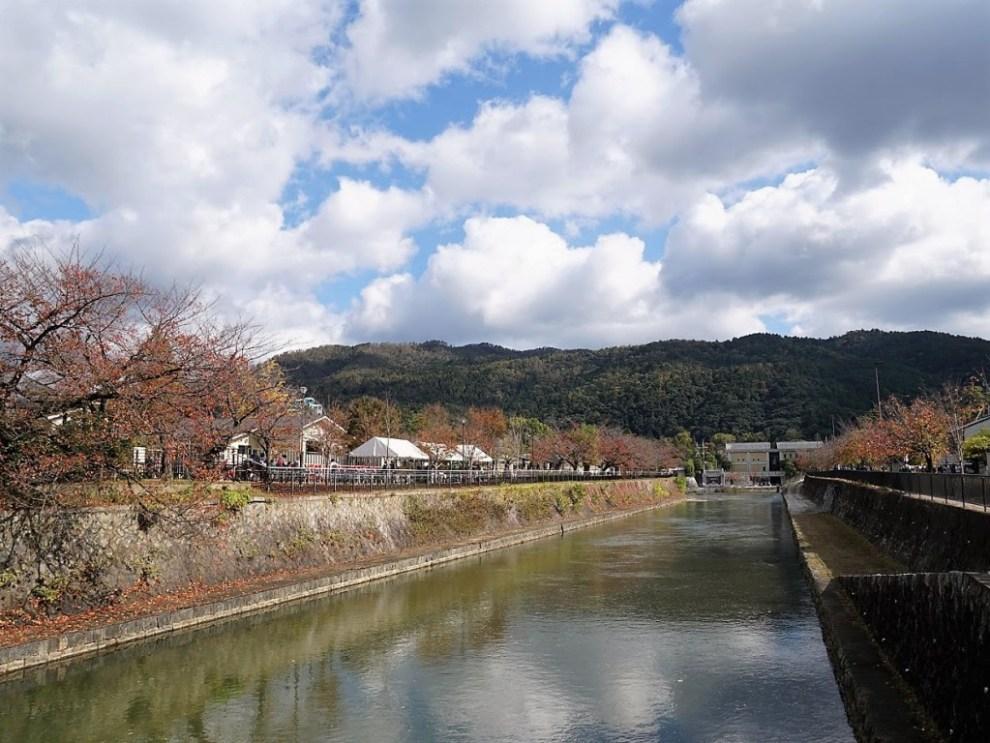 琵琶湖疎水若王子山を望む