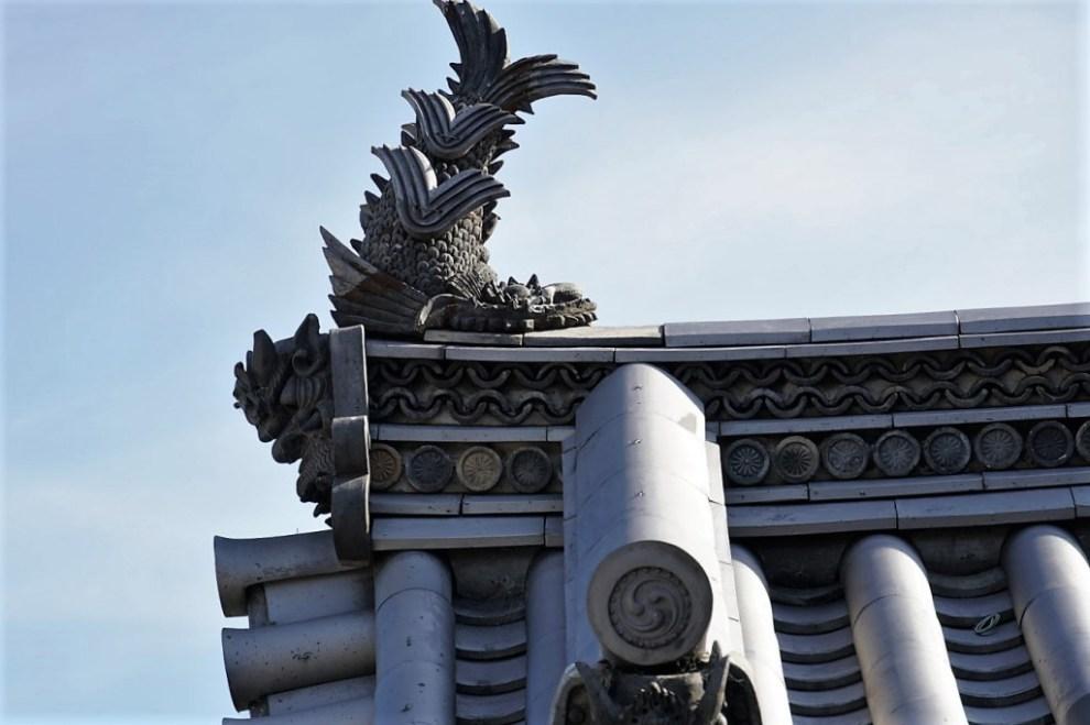 法隆寺 鯱