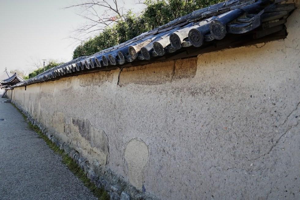法隆寺 塀