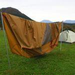 テントの結露を短時間で乾燥させる方法 ~ 門外不出のテクニック