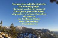 God made you holy