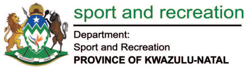 Sports and recreation department KZN