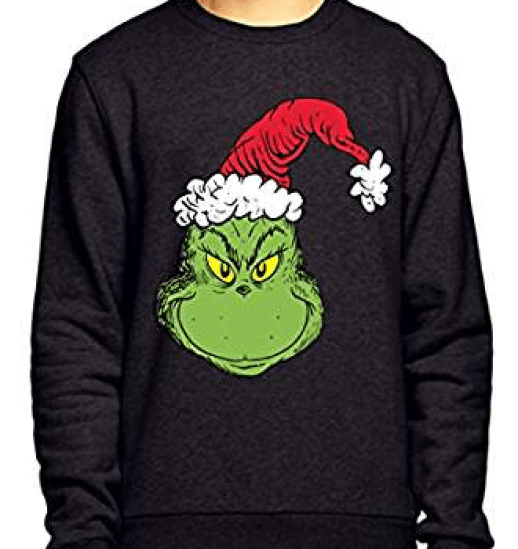 grinch xmas jumper