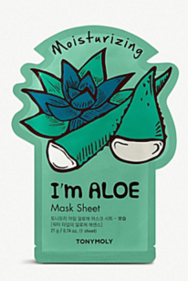 tony moly I'm aloe sheet mask