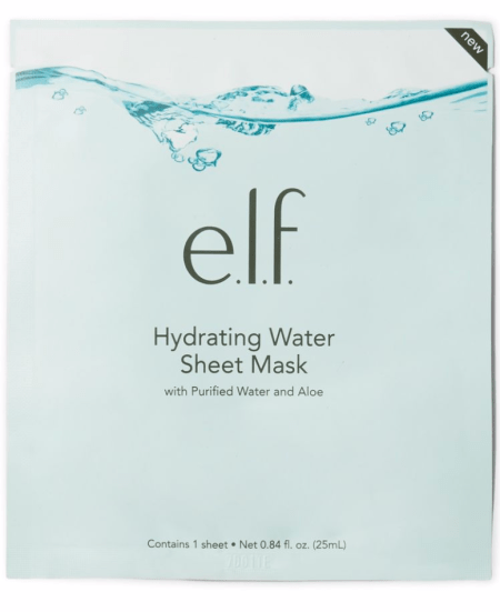 elf cosmetics hydrating sheet mask