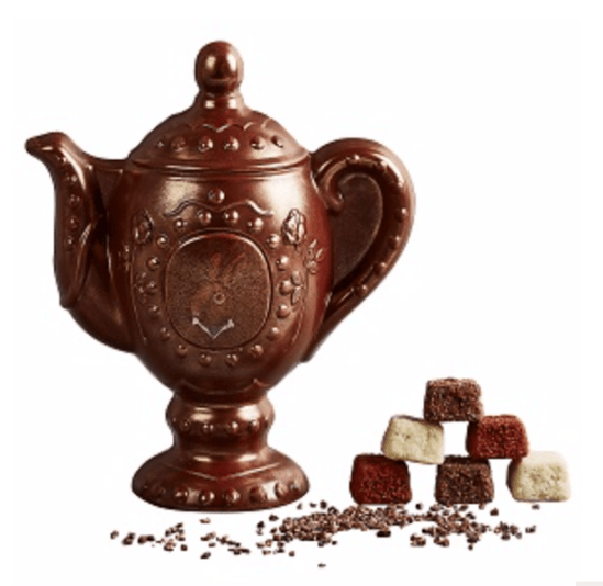 heston from Waitrose chocolate teapot