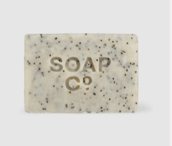 Soap co black poppy and wild fig vegan soap