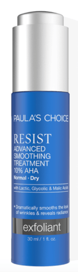 Paulas choice resist antiaging aha