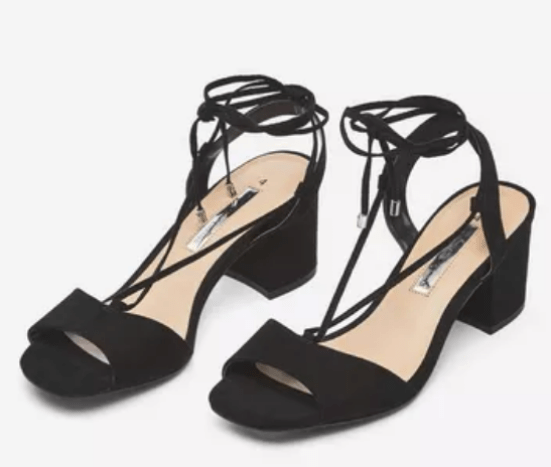 dorothy perkins black sansa sandals