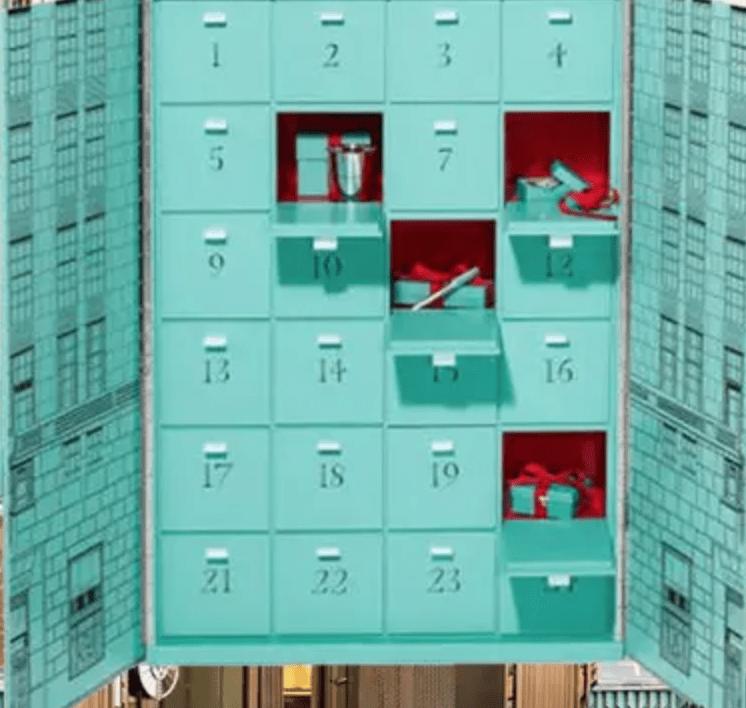 tiffany's luxury advent calendar