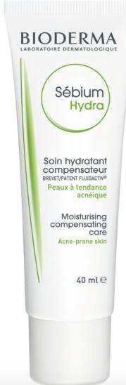 bioderma sebium hydra for dry acne prone skin