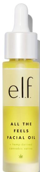 vegan elf cosmetics hemp facial oil