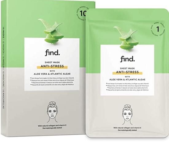 luxury sheet mask - find anti-stress