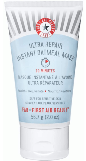 best face masks for dry distressed skin - first aid beauty ultra repair