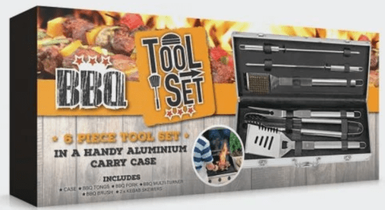 4 awesome father's day gift ideas that aren't socks - BBQ tool kit