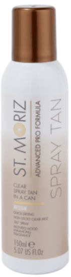 St. Moriz spray tan in a can may achieve the best self-tan in the world