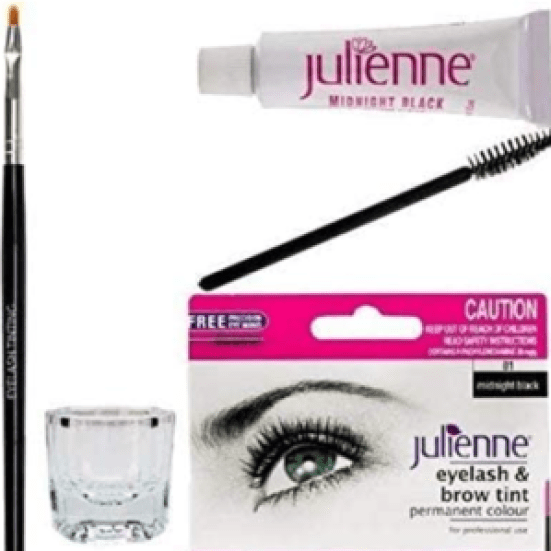 julienne eyelash tint for eyelash tinting kit worth the hype