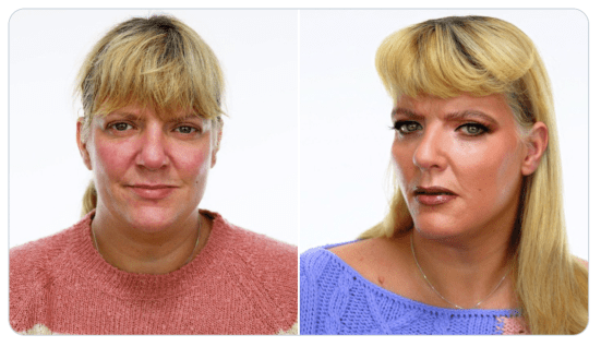 VIPS give makeover like 10 years younger show for loved ones