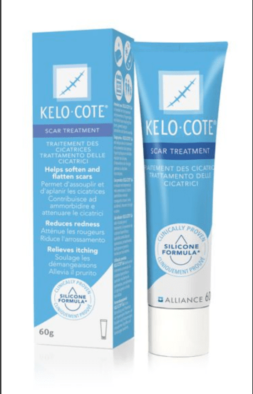 Phase out scars and welcome back confidence with kelo-cote scar gel