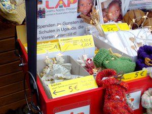 Weihnachtsaktion 2016 Bauchladen