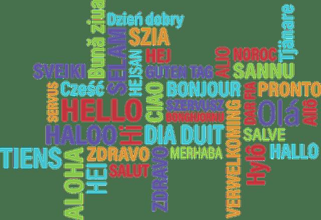 parler une langue étrangère