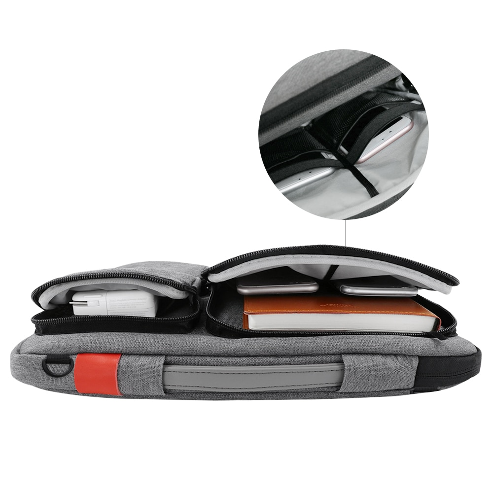 Men's Classic Laptop Case Bag with Extra Pockets