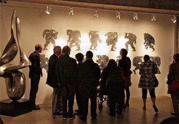 La Nuit Bouffe a permis de visiter trois galeries d'art.