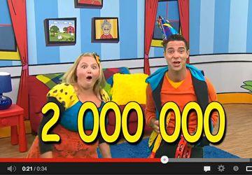 Josée et Louis n'en reviennent pas! Deux millions de vues pour les vidéos de MiniTFO sur YouTube.