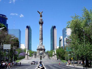 El Angel à Mexico.