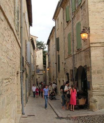 Uzès, département du Gard, Sud de la France.