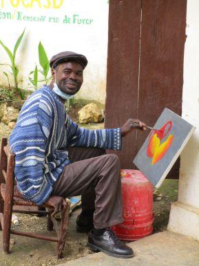 Artiste-peintre, Kenscoff Photo Claire Binet.JPG