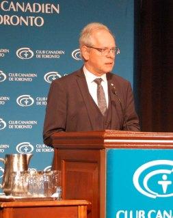 Simon Brault, directeur général du Conseil des arts du Canada.