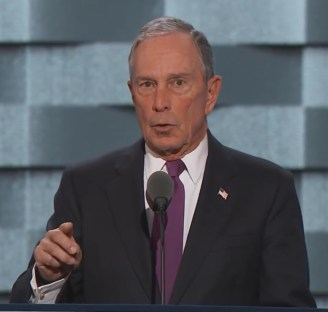 L'ex-maire de New York Michael Bloomberg.