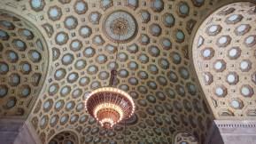 Le plafond de la tour nord de Commerce Court. (Photo: Nathalie Prézeau)