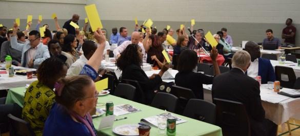 Forte participation à la récente assemblée générale du Reflet Salvéo.