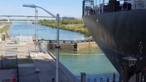 Lock 3 du canal Welland. (Photo: Nathalie Prézeau)